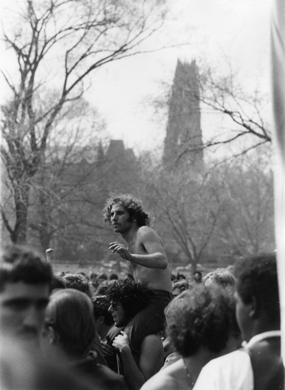 May Day demonstrators.