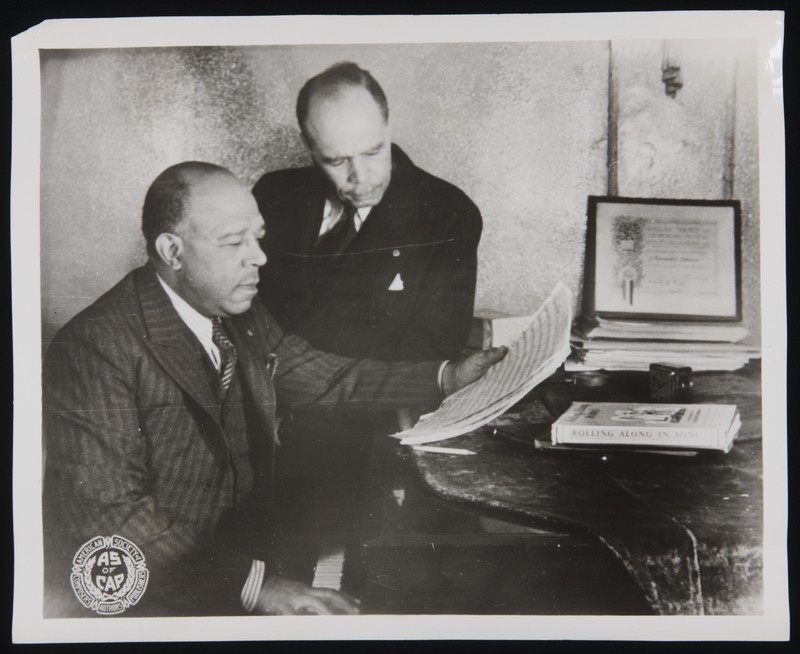 Later Career: James Weldon Johnson · Yale University Library Online  Exhibitions